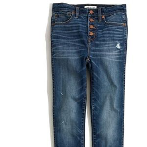 Madewell Fly Button Jeans